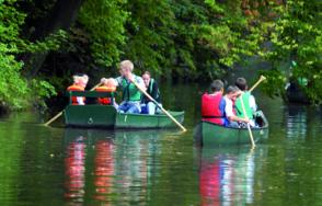 Balade en barque sur l'Yerres